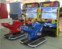 Electronic Racing Machine Ride on Motorcycle Racing Set