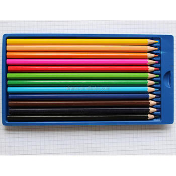 "7"" high quality colored pencils,12 colored pencils"