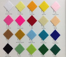 Non-woven felt fabric waterproof shoe raw material for shoe making