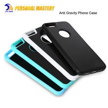 Hands Free Nano Suction Stick Anti Gravity Phone Case For iPhone 7/7 plus,Selfie Case for iPhone 6/6S