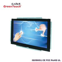 23.6-inch strong stability LCD Open Surface Acoustic Wave touch all-in-one PC for advertisement and information