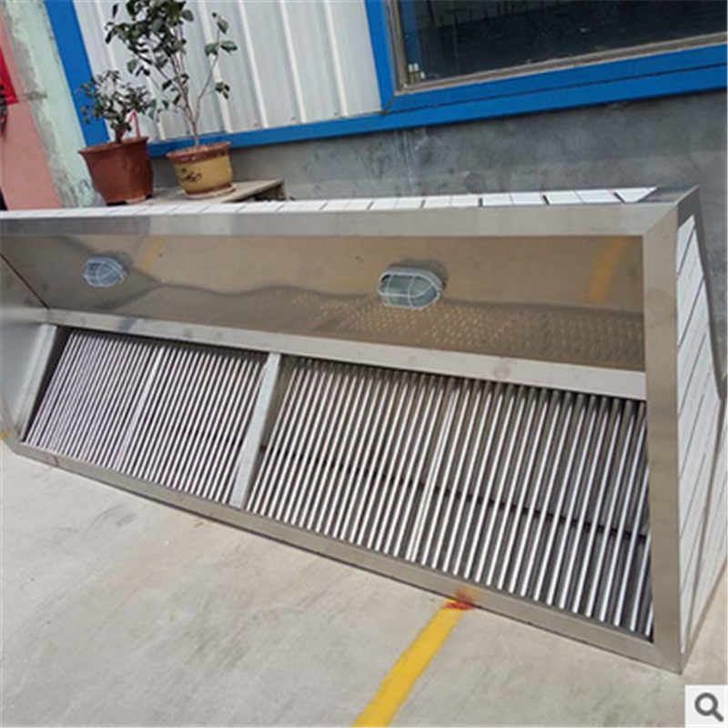 Stainless Steel Industrial Kitchen Cooker Hood for Restaurant or Hotel Kitchen