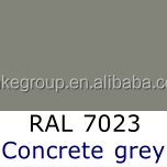 RAL7023 Concrete grey Electrostatic Metallic Powder Coating
