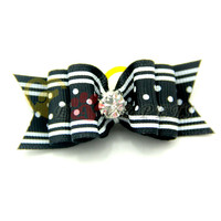 V1028 Dog Grooming Hair Bows Pets Gift Wholesale Hairband Factory Produce Fast Shipping