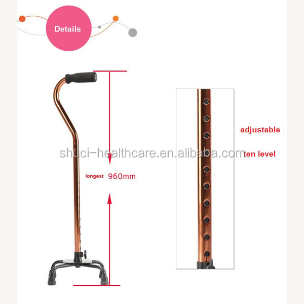 2016 as seen on TV elderly blind cane for walking cane magic folding trusty cane