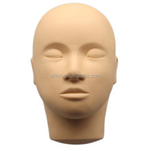 Mannequin Training Flat Head Make Up Eye Lashes Practice Eyelash Extensions, Practice Training Head