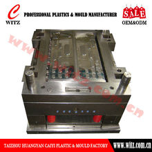 WT-HP02C Plastic container baffle mould spare parts,container mould,plastic mould design