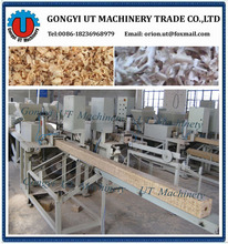 4-5 cubic /day hot press wood block machine Profitable wood pallet block hot press machine block hot press machine