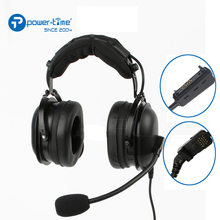 PTE-750 hands free walkie talkie headset