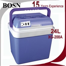Top selling universal ac dc 24L mini diabetic insulin cooler box/portable fridge for medicine