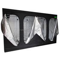 New Portable Grow Tent Green Room Bud Room Dark Room 3x3x2m for Gardening Hydroponic