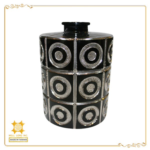 Black high fashion chic design lovely gifts for girl lady women scented fragrance container