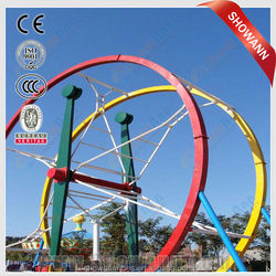 Thrill Amusement Park Rides Ferris Wheel Ring Car for sale with CE certificated
