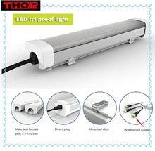 900mm 50W 40W IP65 hanging Triproof Moistureproof Outdoor Led Linear Lights
