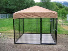 dog kennel cage /4ft 5ft 6ft High Dog Kennel Cage / welded mesh galvanized cages