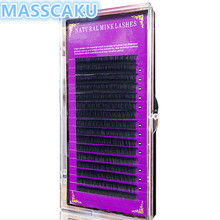 Factory wholesale top quality individual eyelashes with storage