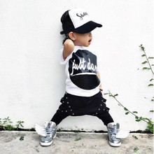 2016 Latest Design Handsome Boy Clothing Set Fashion Kid Clothes