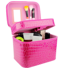 Double Layer professional beauty box makeup Kit vanity case,boxes makeup
