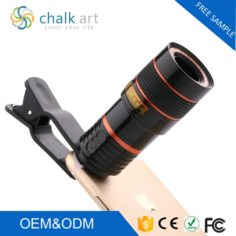 2017 No dark conner mobile phone lens 8x zoom telescope for mobile phone iphone camera lens
