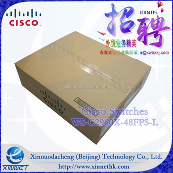Promotion!! Cisco Computer Hardware&Software Cisco Layer 2 network switches WS-C2960X-48FPS-L