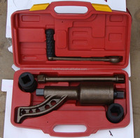 Truck lug nut wrench labor saving wrench