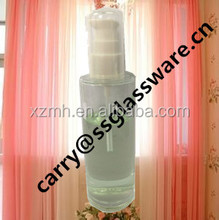 80 ml glass lotion and cream bottle