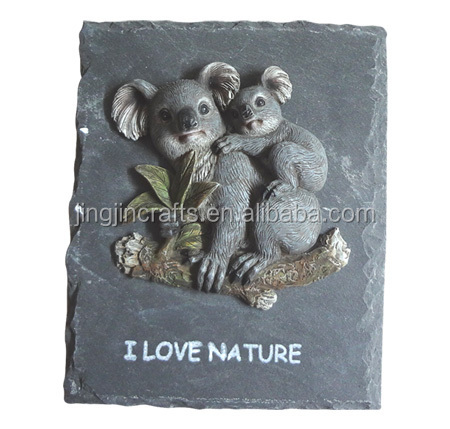 Australian stone resin wall sculpture decor/decorative home wall hanging /unique wall mounted wall art sculpture,plaque
