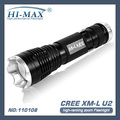 HiMax U.S.A CREE U2 LED outdoor police patrol high intensity flashlight outdoor lighting