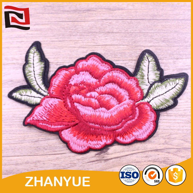 Hot fix fashion hot sales number 7 embroidery patches