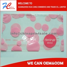 Eco-friendly Soft Pvc/eva Clear Plastic Zipper Bags For Cosmetic Packaging