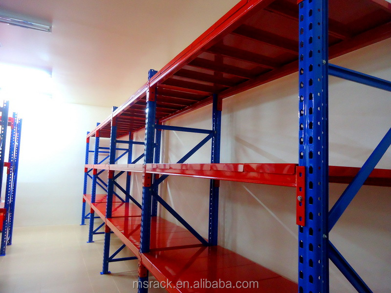 Low cost adjustable steel book shelves with high quality
