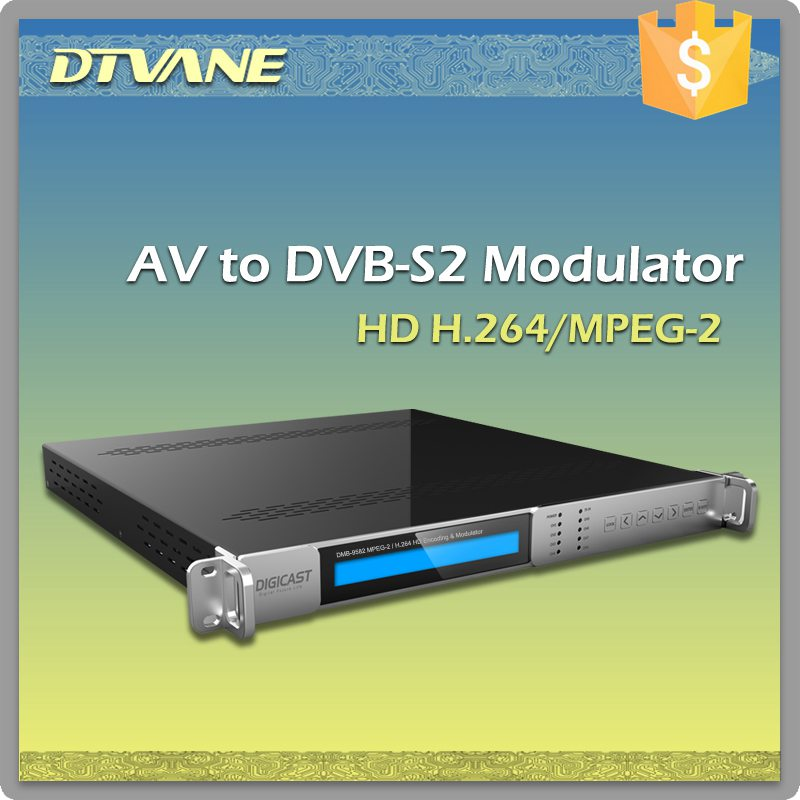 (DMB-9582) Digicast MPEG-2/H.264 HD Isdb-t DVB-S2 Encoder Modulator For DSNG OB VAN SET UP TV Station Media And Broadcasting