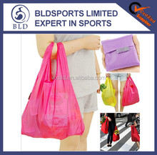 New arrived and personalized promotional gifts folding shopping bag