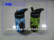 plastic BPA free kid reusable school water bottle for sports 2012 new design