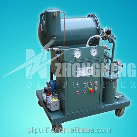 Small Vacuum Insulation Oil Filter Machine, Portable Oil Filration Plant