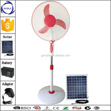 China factory hot-selling solar 12v dc stand fan with timer