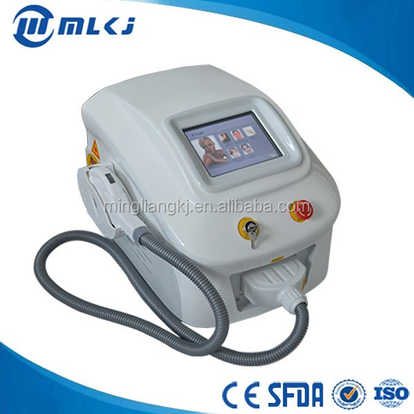 7 filters ipl hair removal/skin rejuvenation machine intense pulsed light mole removal machine