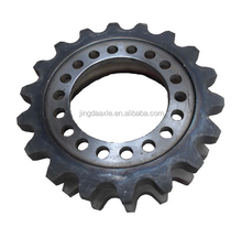 Xuzhou tiangong construction machinery Spare parts manufacturer direct motor spare parts double sprocket PY180H.2-2