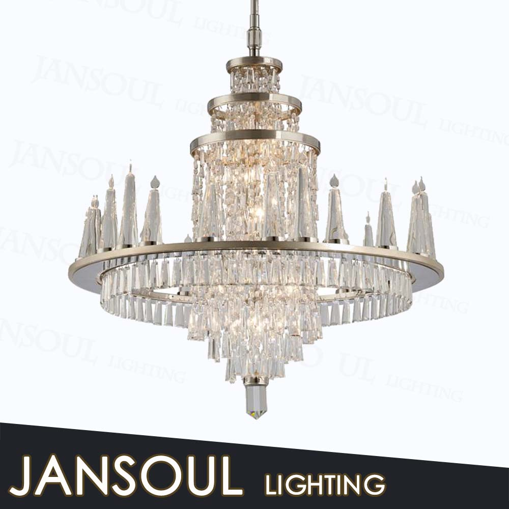 modern chinese lanterns crystal ceiling light luxury lamps for living and dining