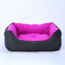 Pet Dog Cat Bed Puppy Square Cushion Washable House Pet Bed