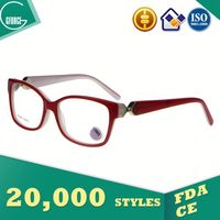 stylish optical frame eyeglass temple tips chromadepth 3d glasses