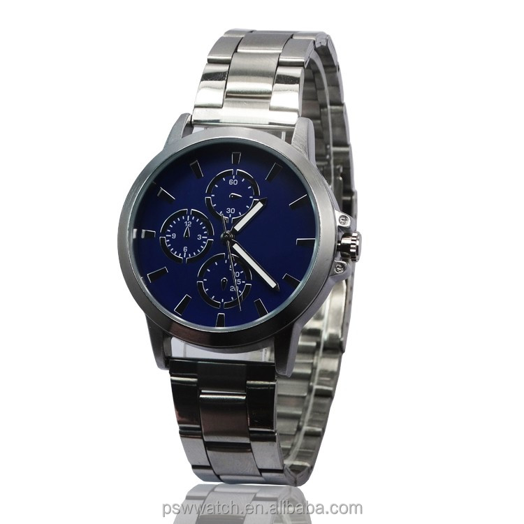 zinc alloy high end men watch vogue watch 2016
