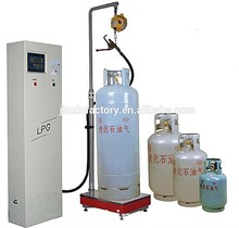 high quality lpg gas cylinder filling machine / equipment
