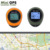 Keychain handheld mini gps rechargeable location finder tracker for outdoor travel climbing