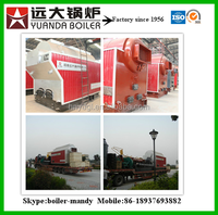 10 ton fire tube coal fired steam boiler automatic for fertilizer plant