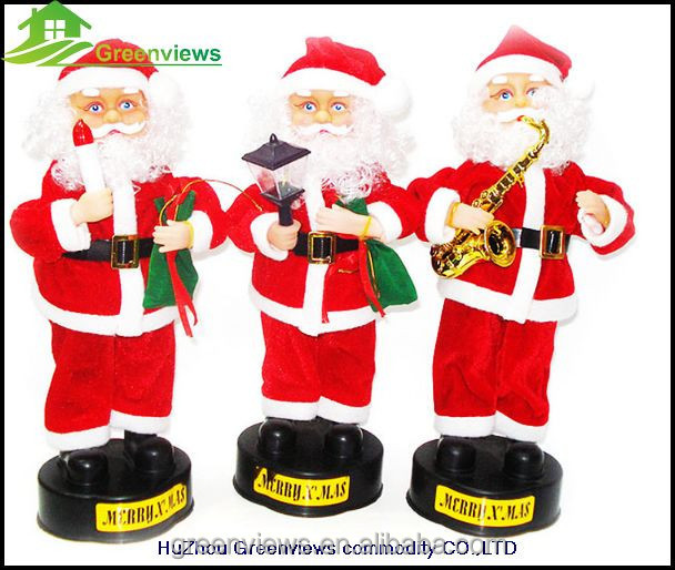 Electronic Santa Claus Dancing`funny Moving Santa Claus