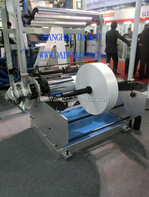 ABA Co-extrusion Mini Type Film Blown Line With Single Winder and Corona Treatment
