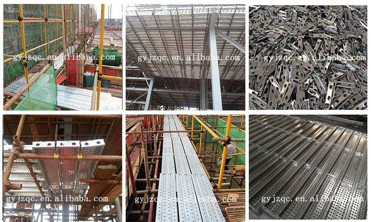 Scaffold Walk Planks : Galvanized scaffold plank steel scaffolding walk boards