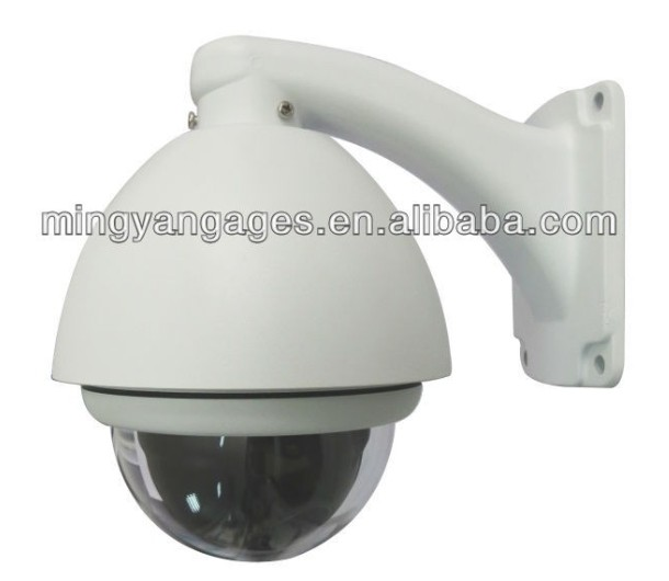 10x optical zoom, samsung cctv camera IP 66 Mini High Speed CCTV PTZ Dome Camera