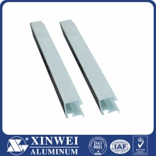 Anodizing for Nepal market Extruded aluminum rail/Aluminum profile frame/Aluminium c channel